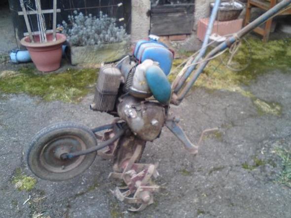 Solofräse - (Technik, Garten, Motor)