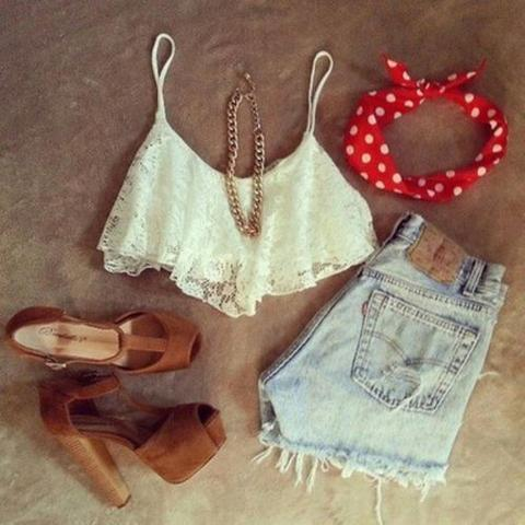 Outfit 1 - (Mode, Sommer, Fashion)