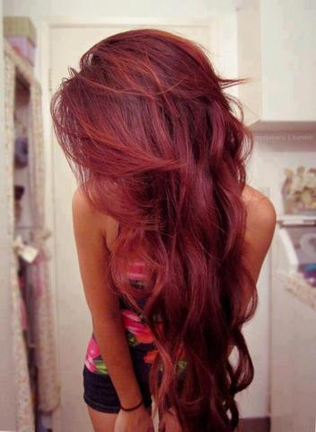 rot 1 - (Beauty, Sommer, Haarfarbe)