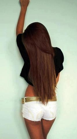 braun//schokobraun  - (Beauty, Sommer, Haarfarbe)