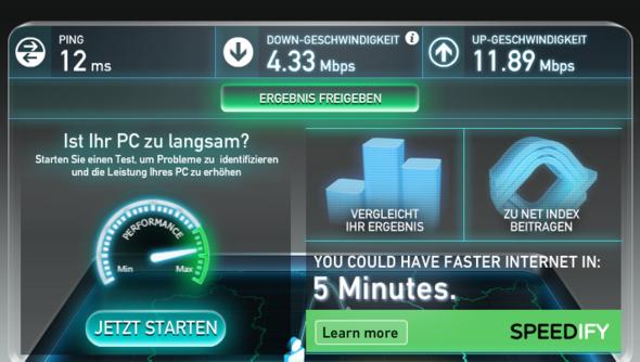 Internetgeschwindigkeit aktuell.. - (Internet, kündigen, sonderkuendigung)