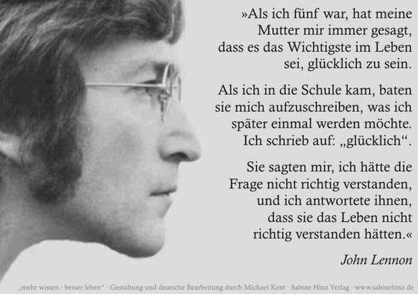 Image Result For Zitate John Lennon Deutsch