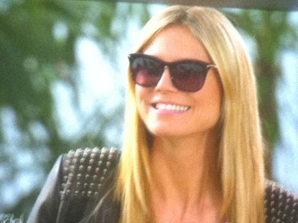 Heidi KLums Sonnenbrille - (Sonnenbrille, gntm, Heidi Klum)