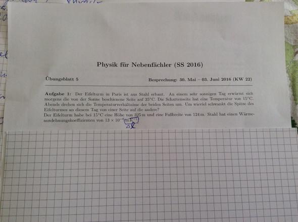 Aufgabe - (Physik, Temperatur, Dreieck)