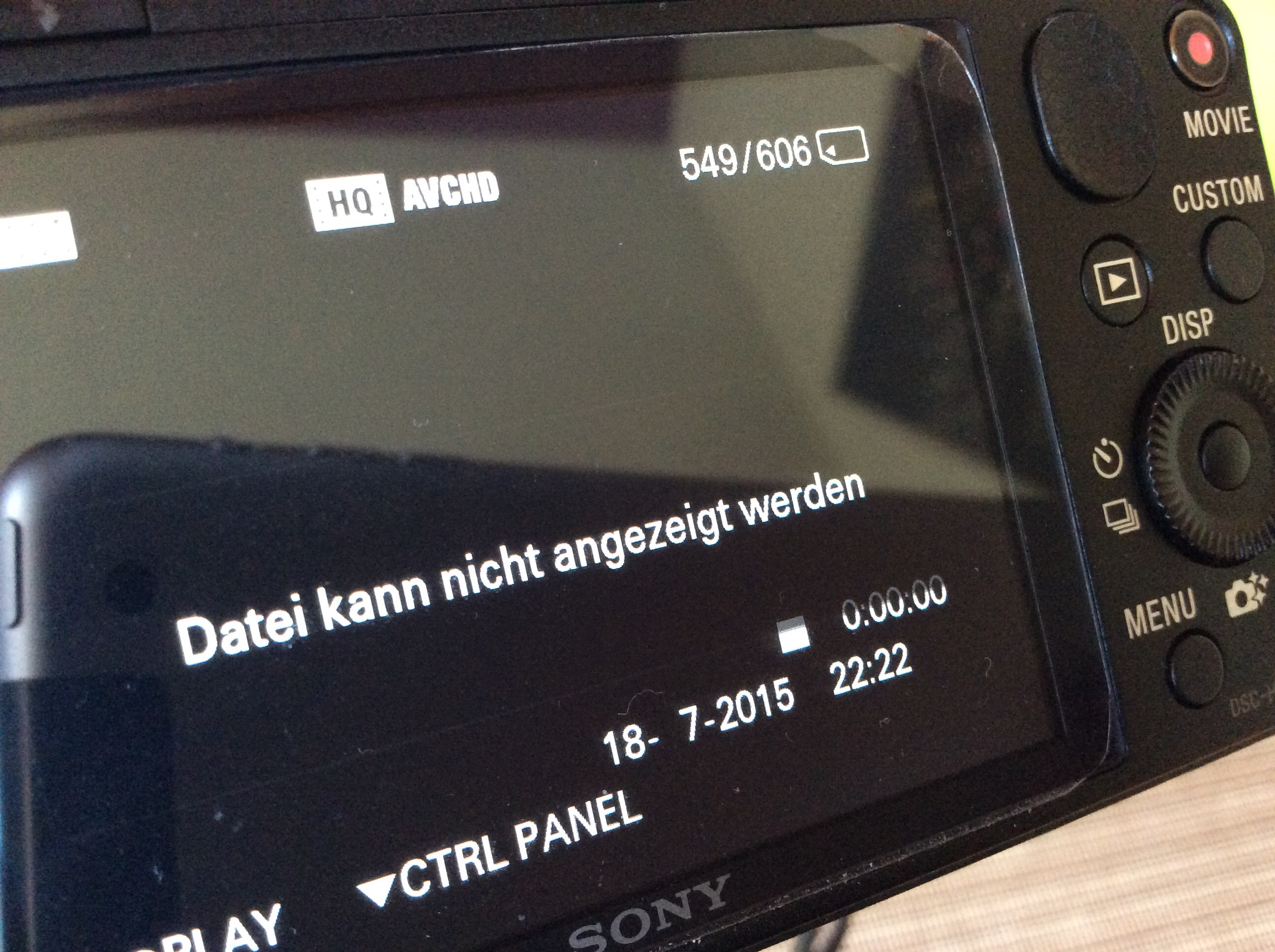 Iphone spielt gespeicherte videos nicht mehr ab