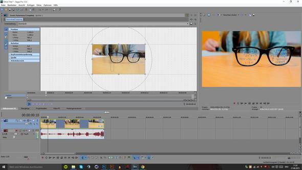 Vegas Screen - (Sony, Videobearbeitung, color)