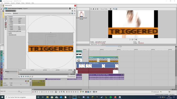 Sony Vegas: Video Cropping?