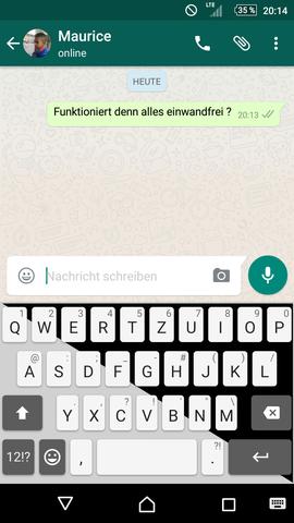 Schwarz/Weiss  - (Smartphone, sony xperia z)