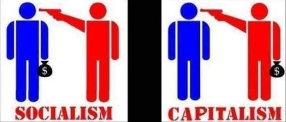 Sozialismus gegen Kapitalismus (Bild) - eure Meinung?