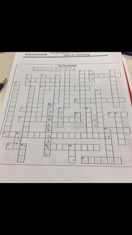 Hast Kreuzworträtsel