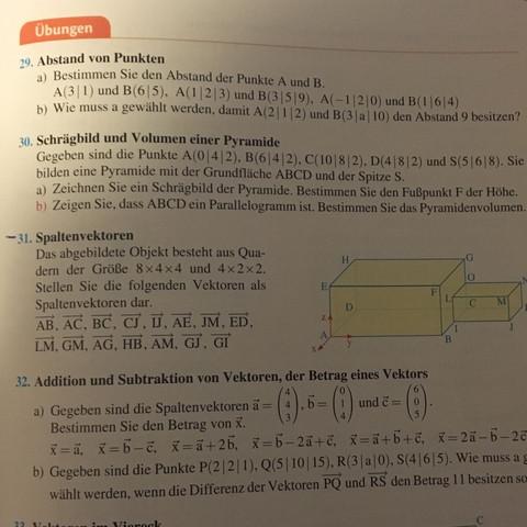 Es ist die Nummer 31 - (Schule, Mathe, Hausaufgaben)