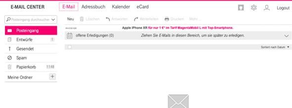 e mail center t-online login