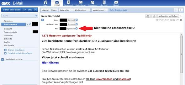 spammail - (Email, Spam)