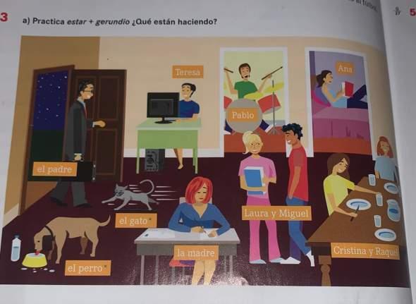 Spanisch estar+gerundio?