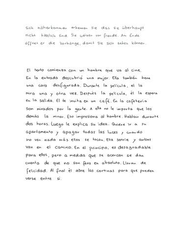 Resumen Schreiben Spanisch Cmgdigitalstudios
