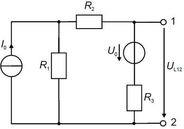 zu superponierende Schaltung - (Physik, Elektrik, Elektrotechnik)