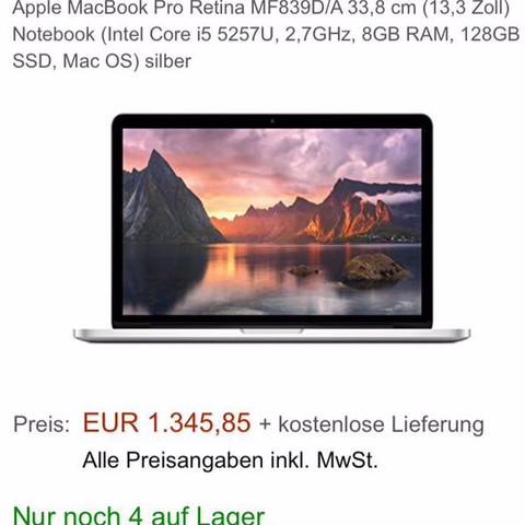 Hier seht ihr nochmal was ich haben möchte :) - (Geld, Macbook, sparen)