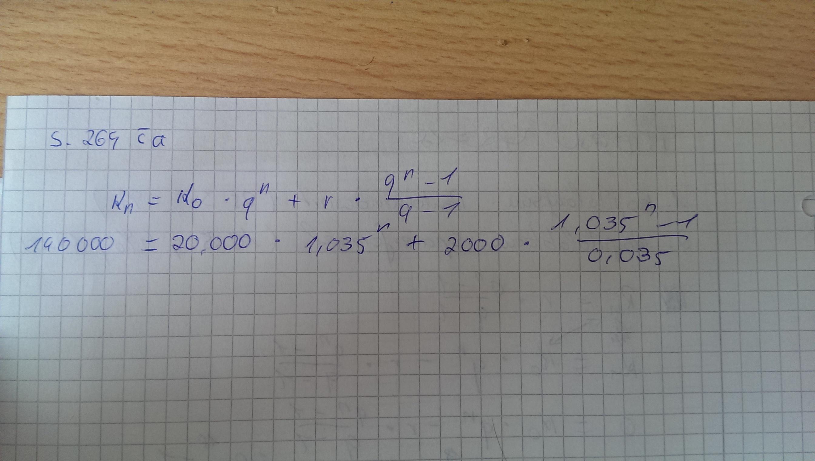 "sparerformel"" umformen nach n (mathe, mathematik, finanzmathematik)"