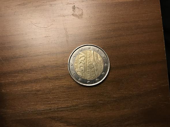 Spiegelei Münze Ja Nein Geld Münzenwert