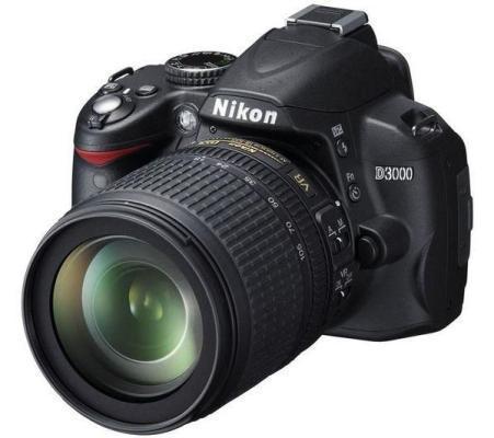 Nikon D3000 Spiegelreflexkamera - (Foto, Kamera, fotografieren)