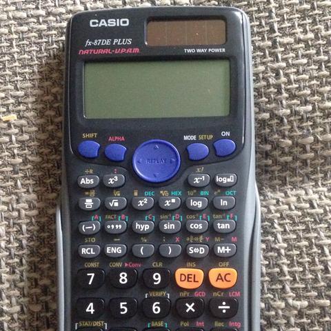 Casio Spiele Taschenrechner