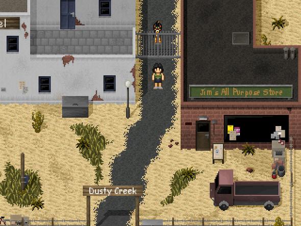 Desert Nightmare - (Horror, retro, Pixel)