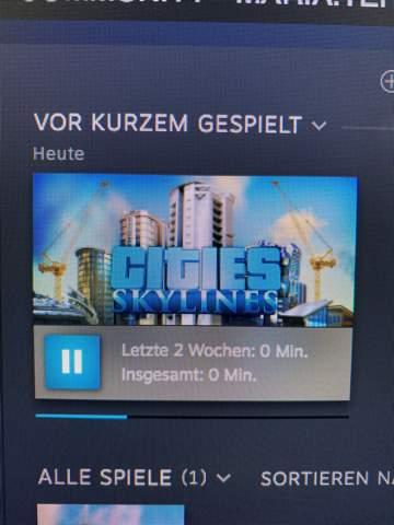 Spielt jemand Cities: Skylines?