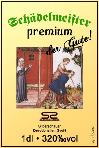 Schädelmeister premium by ~.rhavin;) - (Freizeit, Spirituosen, Lebensmittelrecht)