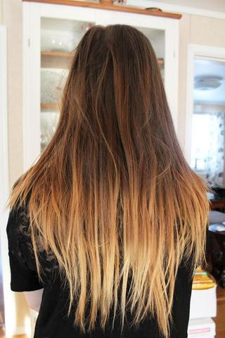 Frisuren unten blond