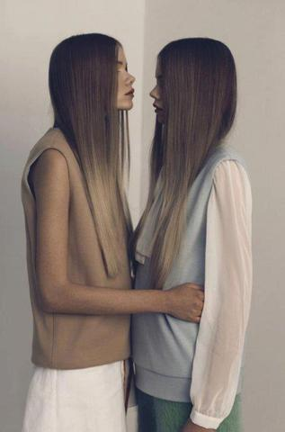 braun-blond  - (braun, blonde spitzen)