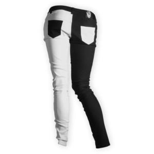 Split Leg Jeans hinten 2 - (Internet, Männer, Hose)