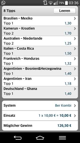 Tippschein.  - (Geld, Fußball, Glücksspiel)