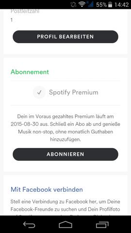 Spotify 7 Tage Testversion Kündigen Musik