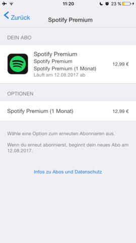 Abos - (Apple, Spotify, premium)