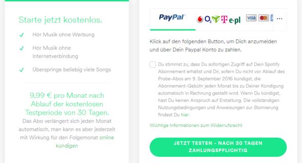 Spotify Probemonat Kostenlos Oder Mit Vertrag Danach Musik Geld