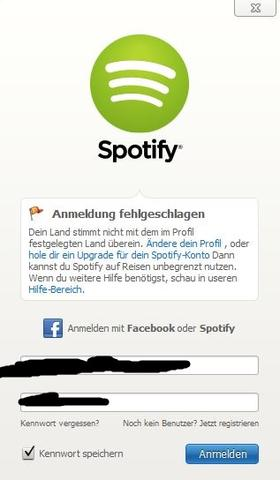 Spotify Anderes Land