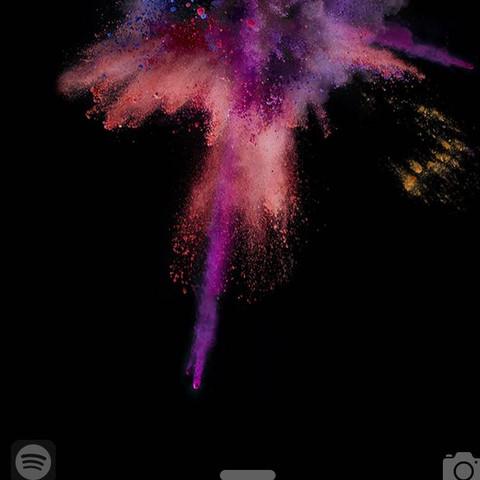 Sperrbildschirm  - (iPhone, Spotify)