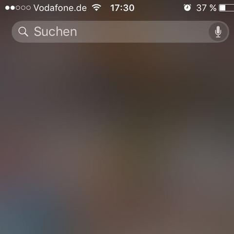 Spotlight Suche Bei Iphone Funktioniert Nicht Ios9 Apple