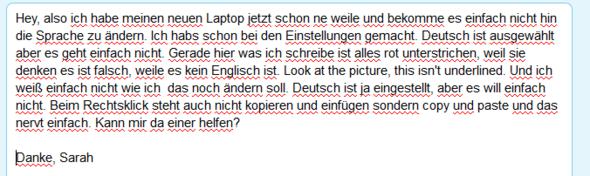 Da das Unterstrichene. - (Sprache, Windows 10, Einstellungen)
