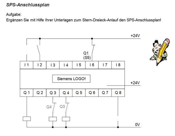 sps anschlussplan elektronik schaltung anschlussplan