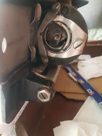 Spule alter Nähmaschine defekt?