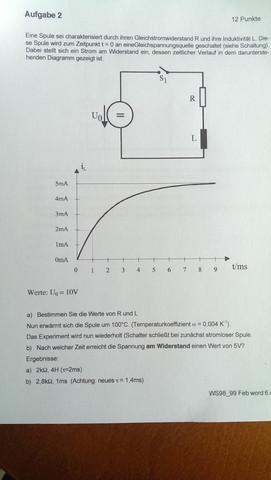 Uploadzeit Berechnen : spule r und l berechnen zeit berechnen elektrotechnik spannung widerstand ~ Themetempest.com Abrechnung