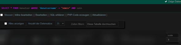 Sql / mysql code geht nicht richtig?