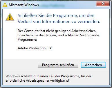 SSD - Arbeitsspeicher Problem - (Computer, PC, Windows)
