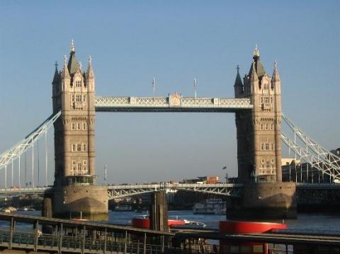 Tower Bridge - (Reise, wohnen, England)