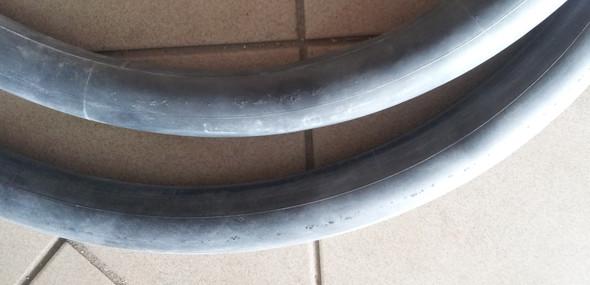schläuche mit löchern - (platten, Fahrrad schlauch, Löcher Umfang entlang)