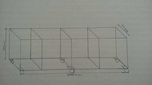 So soll das ungefähr aussehen  - (basteln, bauen, Metall)