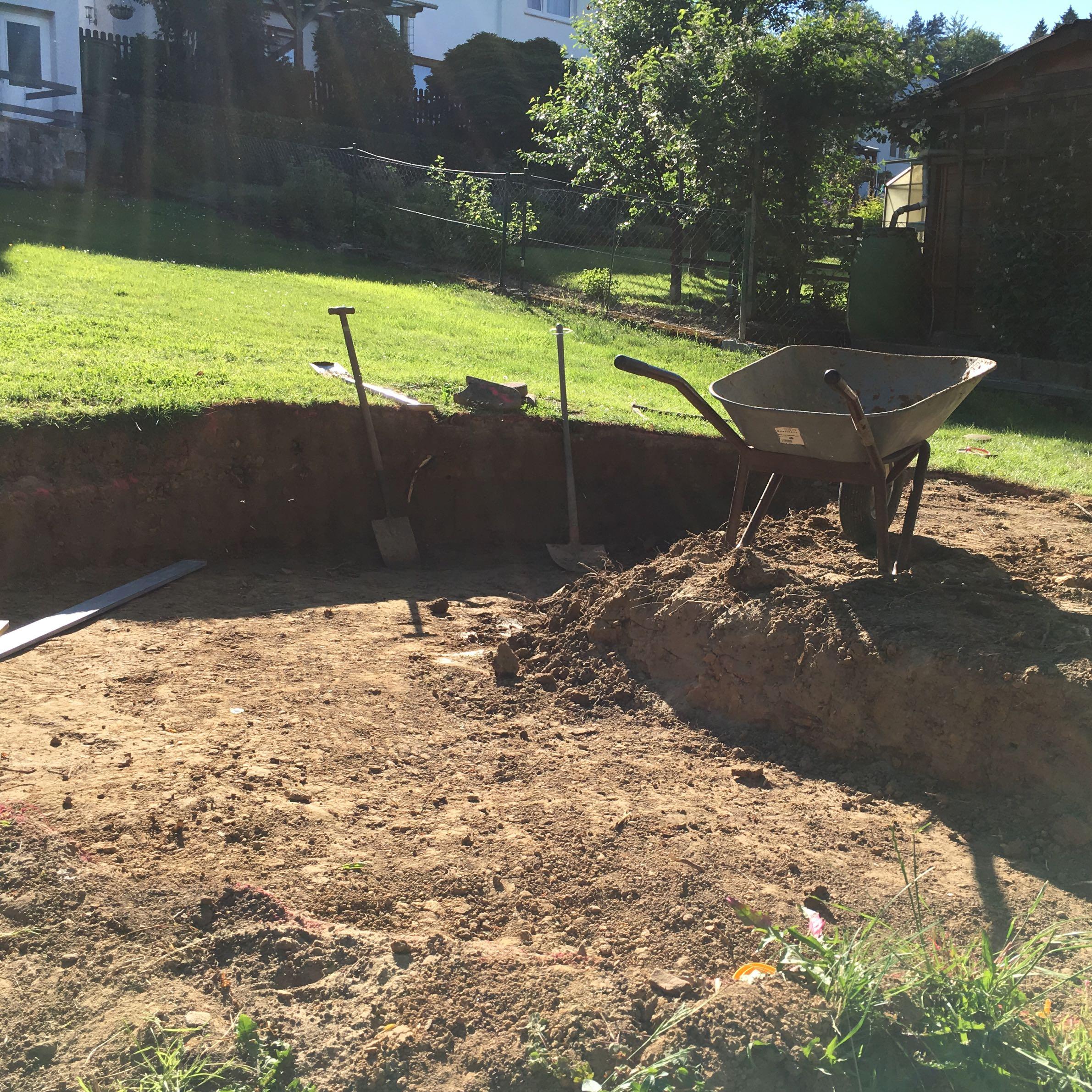 stahlwand pool 4 00 x 1 20 teilweise versenken geht das ohne bodenplatte und drainage