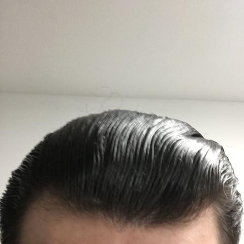 Stirn mann große Niedrige Stirn
