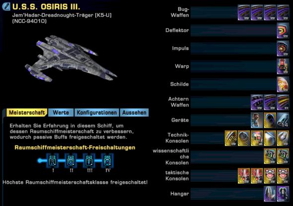 Star Trek Online Schiff